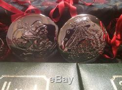 11 Sterling Silver Christmas Ornaments From Harrods