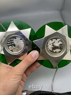 11 Sterling Silver Franklin Mint Christmas Ornament 1971-1982