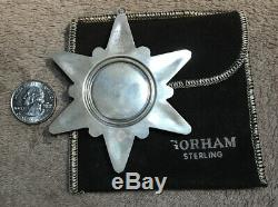 1970 Gorham Sterling Silver Christmas Ornament 1st in Series Vintage