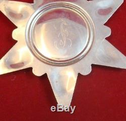 1970 Gorham Sterling Silver Snowflake Ornament
