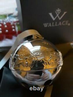 1972 Wallace Silver Plate Bell Ornament