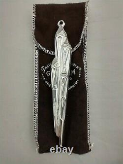 1973 Gorham Icicle Sterling Silver Christmas Ornament New, Unused, with Bag RARE