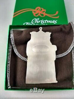 1973 Gorham Wisemen Sterling Silver Christmas Ornament Mint, Unused withbox, bag