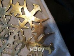 1973 Mma Sterling silver Christmas Ornament Tree Topper super rare