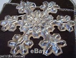 1976 GORHAM 21.4g STERLING SILVER SNOWFLAKE ORNAMENT