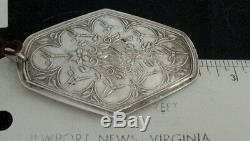 1979 TOWLE mark 15g STERLING SILVER 9 Ladies Dancing Days of Christmas ORNAMENT