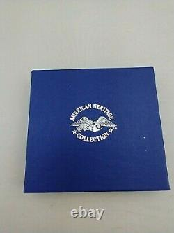 1991 American Heritage Sterling Toy Soldier Christmas Ornament New, Mint, Box