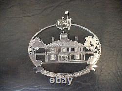 1994 Masters Golf Augusta National Club House Christmas Ornament VERY RARE PGA