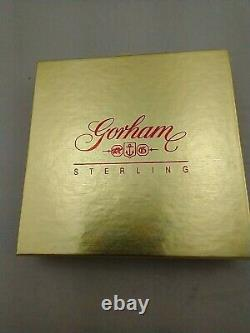 1996 Gorham Sterling Silver Snowflake Ornament New, Unused, MINT withbox & bag