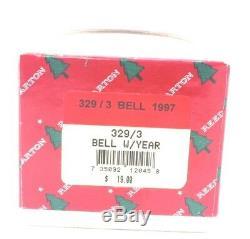 1997 Reed Barton Silver Plate Traditional Annual Bell Xmas Ornament NIB