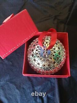 1998 Silver Christmas Ornament John Hardy Ball Huge Rare