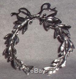 2000 Gorham Sterling Silver 31st Christmas Snowflake Ornament Pendant Medallion