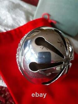 2005 Wallace Sterling Silver Bell Ornament