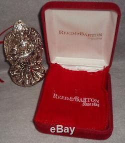 2008 Reed Barton Sterling Silver #6 Annual Angel Christina Xmas Ornament Pendant