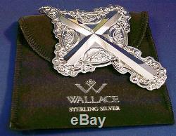 2011 Wallace Grande Baroque Sterling Silver Cross Ornament(s)