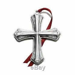 2012 Tuttle Luzon 5th Annual Sterling Silver Christmas Cross Ornament Pendant