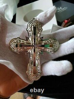 2017 Wallace sterling Silver Christmas Ornament Cross Nib