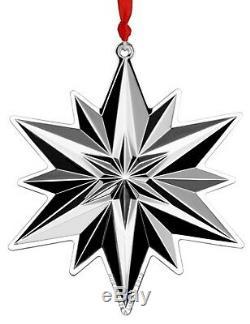 2019 GORHAM 50th Sterling Silver Christmas Snowflake Ornament Pendant Medallion