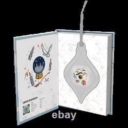2020 Harry Potter Season Greetings Christmas Niue 2 dollars 1oz silver ornament