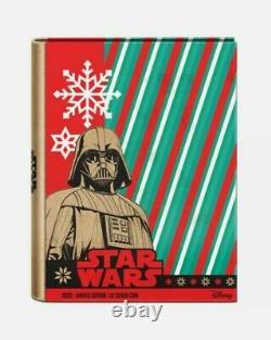 2020 STAR WARS Sithmas Seasons Greetings 1oz silver coin Christmas Ornament