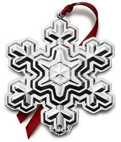 2021 GORHAM 52nd Sterling Silver Christmas Snowflake Ornament Pendant Medallion