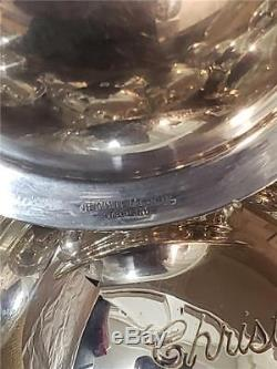 (20) Neiman Marcus STERLING SILVER Saturn Ball Christmas Tree Ornaments