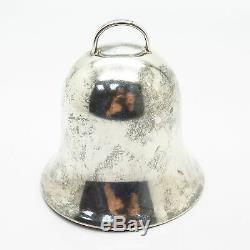 925 Sterling Silver Vintage 1981 John Halls Annual Bell Christmas Ornament