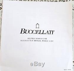 BUCCELLATI 925 Sterling Silver Star Ornaments Lot Brochures Box Christmas Books