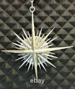 Buccellati Christmas Ornament, Sterling Silver, Zenith Star