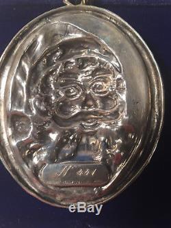 Buccellati Sterling Silver 1988 ORIGINAL SANTA Christmas Ornament
