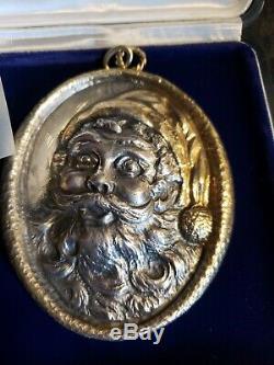 Buccellati Sterling silver Christmas Ornament Santa Rare