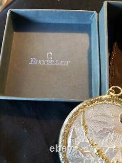 Buccellati sterling Silver Christmas Ornament Rare