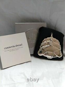 Cazenovia Abroad Sterling Silver Christmas Ornament On The Third Day Judith Kall