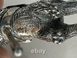 Cazenovia Abroad Sterling Silver The Rabbit Carousel Ornament