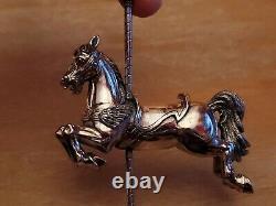Cazenovia Abroad Sterling Silver Winged Horse Carousel Ornament