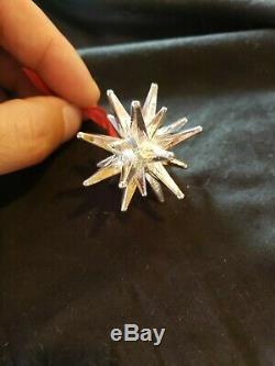 Cazenovia sterling Silver Christmas Ornament Moravian Star Super Rare