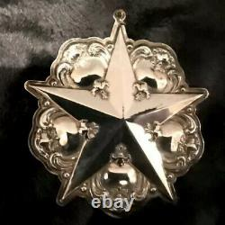 Christmas Ornament Sterling Silver GORHAM 2000 MILLENNIUM New In Box