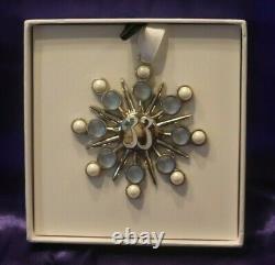 Club 33 2020 Christmas Ornament Blue & Silver Star New