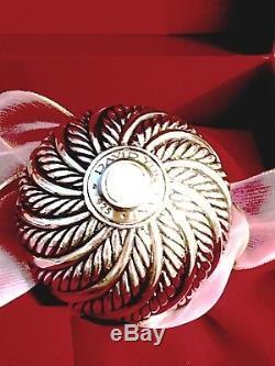 David Yurman Ornament Sterling Silver in Original Box a Rare X-mas Collectible