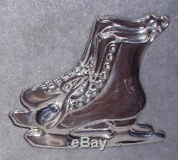 EUC 1997 American Heritage New England Sterling Ice Skates Christmas Ornament