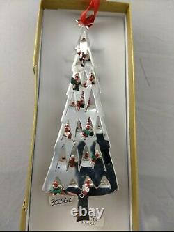 Emilia Castillo Sterling Silver Christmas Tree Ornament, New, Unused, Mint withbox