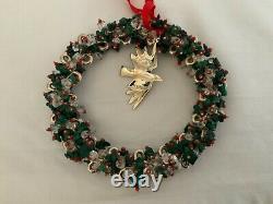 Emilia Castillo Sterling Silver Wreath Ornament, Neiman Marcus 2008