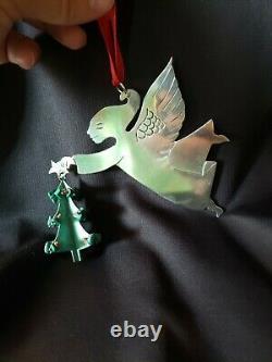 Emilia Castillo Sterling silver Christmas Ornament Angel Tree