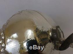 GIANT Kugel Mercury Glass Christmas Ornament Heavy Vintage Grape Cluster 12