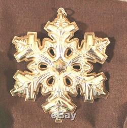 GORHAM 1985 1986 1987 1988 1989 Sterling Silver Snowflake Christmas Ornaments