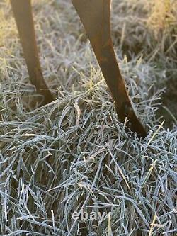 Garden Decor Metal Stag Rustic