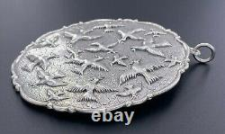 Gianmaria Buccellati Italy Sterling Silver 925 2003 Doves Of Peace Ornament