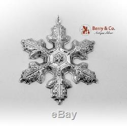 Gorham Christmas Ornament Sterling Silver 1997