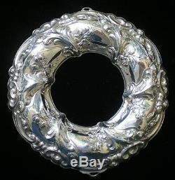 Gorham Rennaisance Wreath Sterling Silver Christmas Ornament