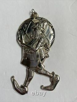 Gorham Sterling Silver Elf Ornament Unusual And Rare